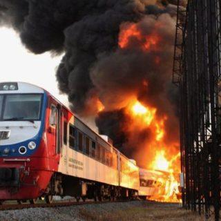 Экспертиза причин возникновения пожара на железнодорожном транспорте