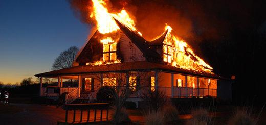 Независимая оценка дома после пожара