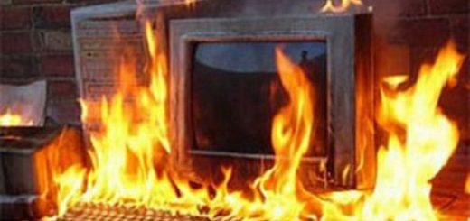 Установление очага возгорания