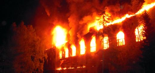 Оценка экономического ущерба от пожара